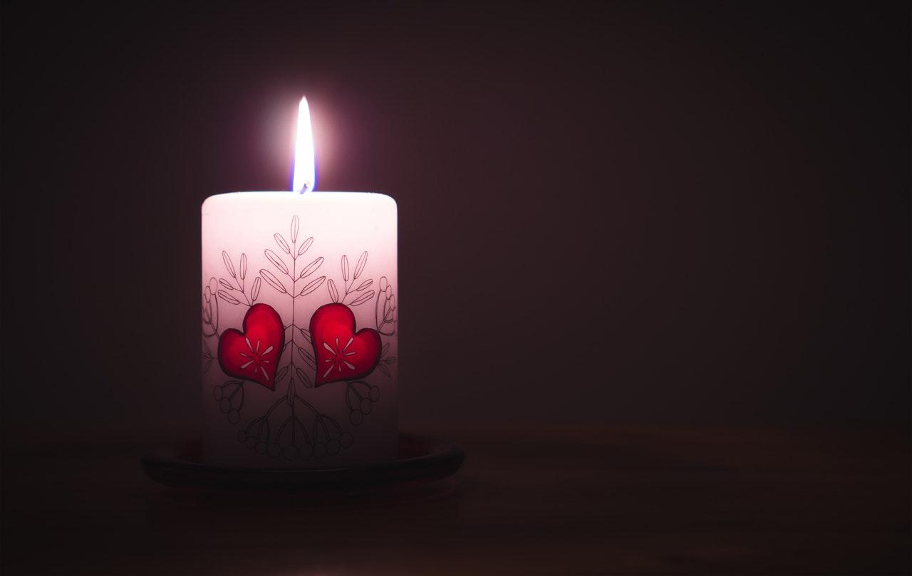 valentinecandle